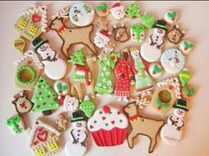 Adorable christmas cookies