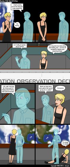 Questionable Content: This webcomic is filled with exactly what it's title states - questionable content. There is swearing, occasional nudity, and sexual content. It also has robots, coffee, and AI to help the entertainment factor. User's discretion needed. 4/10