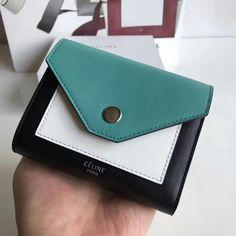 124930,CELINE Wallet,Size 12 cm