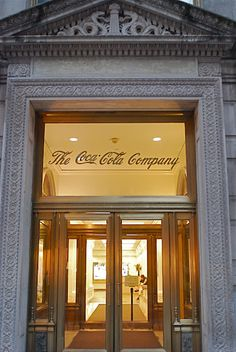 NYC ♥ NYC: Fifth Avenue Building of the Coca-Cola Company, the Longest Continuous Corporate Partner of the Olympic Games