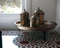 Moroccan Furniture Stencil
