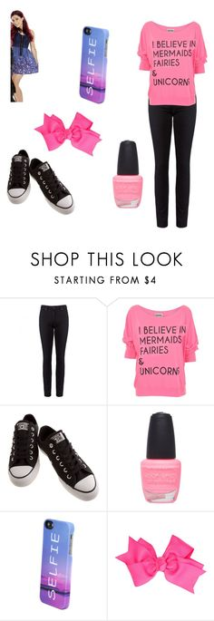"""Music Camp Rayis♥"" by marielysyanisel ❤ liked on Polyvore featuring Paige Denim, Converse, Wet Seal and Pull&Bear"