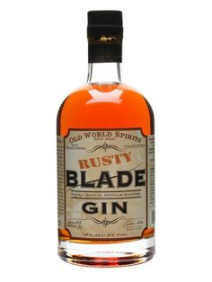 Rusty Blade Gin is a series of single barrel releases of Blade Gin from California which have been aged in French oak.  A gin made in a style that whisky or cognac lovers will particularly enjoy.