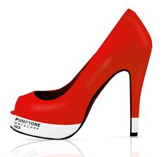 <3 <3 <3 : If It's Hip, It's Here: Pantone Pumps Are A Kick Of Color. Pumptone Universe by Christian Goldemann.