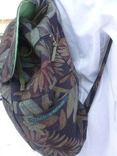 Perfekt durchdachter Rucksack mit Front Tasche fürs Handy Rucksack mit Anbau – Tuttis Welt DIY, Nähen, Upcycling, Smartphone, Mobilphone