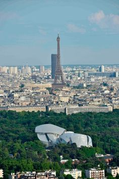 The Louis Vuitton Foundation is situated in the Bois de Boulogne, to the west of central Paris.http://www.theguardian.com/artanddesign/2014/oct/19/-sp-louis-vuitton-foundation-creation-paris-review-frank-gehry