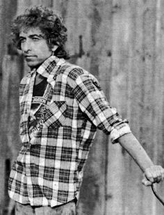 Bob Dylan just a-chillin'.