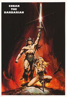 bulletride-actionwear: Conan The Barbarian poster art by Renato...