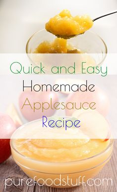 Sweet treats are not always welcome. We need to maintain a healthy weight, watch out for excessive sugar intake and keep our blood levels to normal. Many sweet treats are not allowed on the daily menu when you want to stay healthy, but not this homemade applesauce recipe.