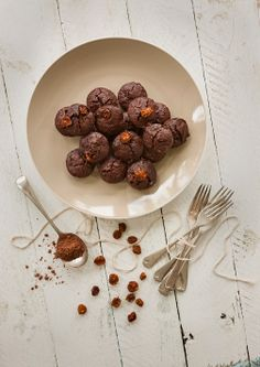 Cacao and Inca Berry Bownies Cape Gooseberry, Eat Dessert First, Chocolate Brownies, Meals For One, Superfoods, Sweet Recipes, Berries, Healthy Eating, Tasty