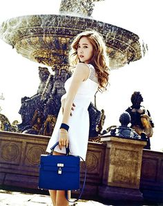 Girls ' Generation Jessica Vogue Girl Korea 2013