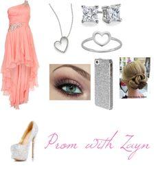 """Prom with Zayn"" by zaynslover1733 ❤ liked on Polyvore"