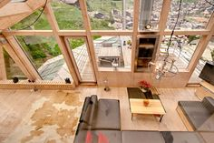 Glass Attic Penthouse Chalet with Stunning Mountain Views