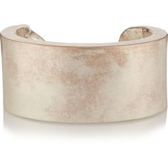 Maison Margiela Silver-tone bracelet ($296) ❤ liked on Polyvore featuring jewelry, bracelets, silver, silver tone jewelry, maison margiela, bracelet bangle, bracelet jewelry and silvertone bracelet
