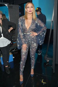 See All 10 of Jennifer Lopez's Amazing Ensembles from the 2015 AMAs | InStyle.com