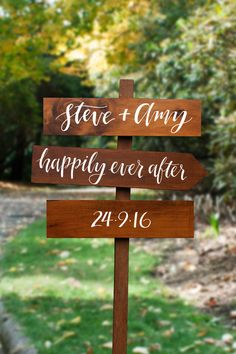 Rustic wooden wedding sign from Etsy | See more: http://theweddingplaybook.com/tips-on-shopping-etsy-for-your-wedding/