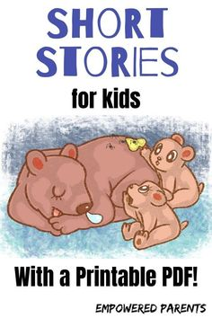 4 Short Funny Stories for Kids (with a Printable PDF) - Empowered Parents