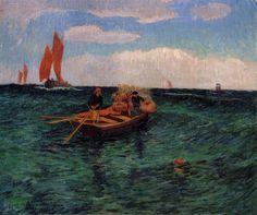Henri Moret - The Breton Sea