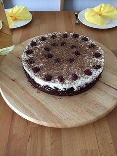 Glutenfreie Schwarzwälder-Kirsch-Torte