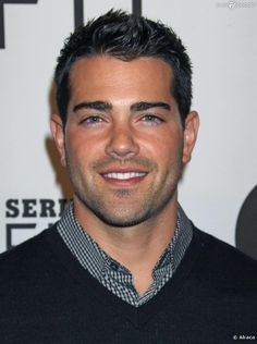 Jesse Metcalfe! Saw him at the NASCAR race in November at TMS! :)