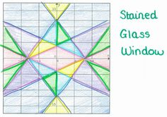Linear equations - can use colored Saran Wrap to create a stained class look Math 8, Teaching Math, Teaching Aids, Math Teacher, Math Games, Math Classroom, Future Classroom, Classroom Ideas, Budgeting Worksheets