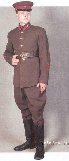 Uniformes del Ejército Rojo VII-7