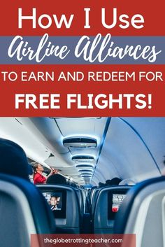 Heard of airline alliances but aren't sure how to maximize them? Wondering how airline miles for one airline can be used on another? This guide helps you get started with earning free flights for travel! Travel Advice, Travel Guides, Travel Tips, Travel Hacks, Travel Stuff, Travel Bag, Travel Destinations, Airline Alliance, Book Cheap Hotels