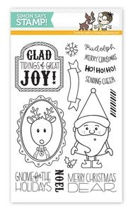 Simon Says Clear Stamps GNOME FOR THE HOLIDAYS