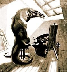 Victor Melamed - Illustratore, caricaturista e graphic designer russo
