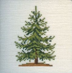 Image result for pine cone cross stitch