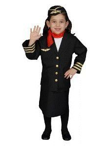 Airline Flight Attendant Child Costume Size 16-18 X-Large by Dress Up America. $24.00. Airline Flight Attendant Costume includes: Jacket, Skirt, Neck Scarf and Hat. Size 16-18 Large.