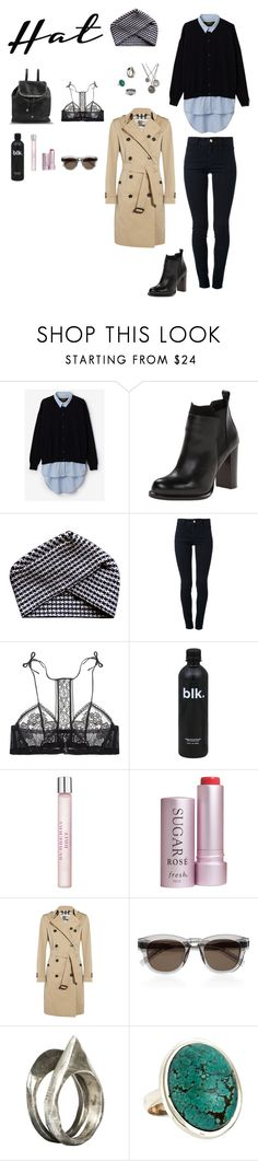 """Untitled #81"" by kayla-kanala ❤ liked on Polyvore featuring Le Mont St. Michel, Sam Edelman, Electronic Sheep, STELLA McCARTNEY, La Perla, Burberry, Fresh, Yves Saint Laurent, Pyrrha and Unearthen"