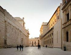 Padiglione di accesso agli scavi dell'Artemision di Siracusa, Italy, by Vincenzo Latina