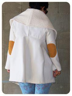 OOTD: DIY Coat w/ Floral Skinnies   Pattern Review V1263