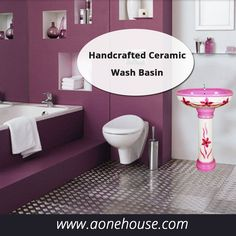 Modern style of Hand Craft Series Wash Basin from World Class Quality Sanitary Ware Supplier - http://www.aonehouse.com/hand-craft-series/