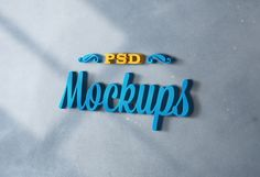 PSD Logo Mock up