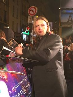 Michael Pitt attended the Ghost In The Shell premiere in Paris 3/21/2017