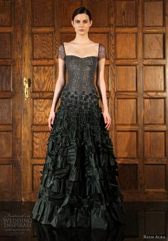 Look, I like vintage, but my real love affair is with modern runway fashion, and you might as well know that. (Reem Acra Pre-Fall 2012)