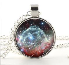 Thors #helmet #nebula necklace - star #galaxy art - astronomy space gift for wome,  View more on the LINK: http://www.zeppy.io/product/gb/2/271705264183/
