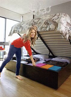star secrets to cleaning and organizing decorating home u0026 garden television this would help with storage hydraulic bed need for storage
