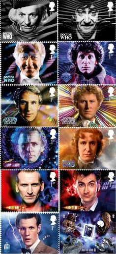 I have this set!!! Doctor Who postage stamps special edition (UK)