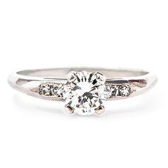 Antique Engagement Rings Simple A Color 11
