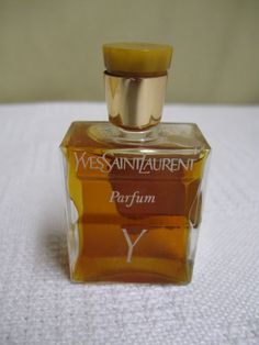 Vintage Yves Saint Laurent Parfum Y Never by PinkStreetVintage, $88.00