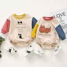Material: A blend of cotton and polyester. Breathable, soft, comfortable, and skin-friendly for babies from 3 months up to 24 months old. Fits true to size. A perfect holiday outfit for this winter season. Cute Gifts For Girls, Cute Outfits For Kids, Cute Kids, Cute Babies, Baby Outfits, Trendy Baby Clothes, Crochet Baby Clothes, Baby Swag, Baby Boy Fashion