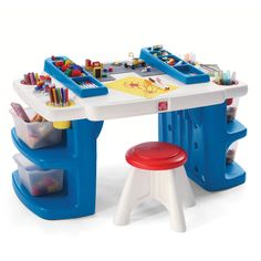 Build & Store Block & Activity Table™ by Step2 is one of most popular Kids Furniture products for children. View and shop now