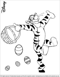 Disney Easter Coloring Pages Home