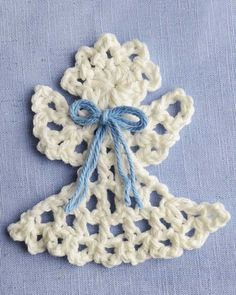 Maggie's Crochet · Raffia Angel Free Pattern ~k8~
