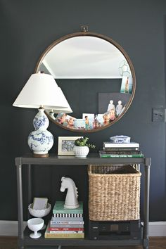 Beautiful navy blue paint colors for your home decor.