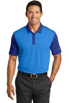 d071a1b6 NIKE GOLF DRI-FIT SOLID ICON PIQUE MODERN FIT POLO- Add your logo at ...