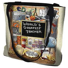 Teachers Pride Tote Bag by ZoogSay on Etsy